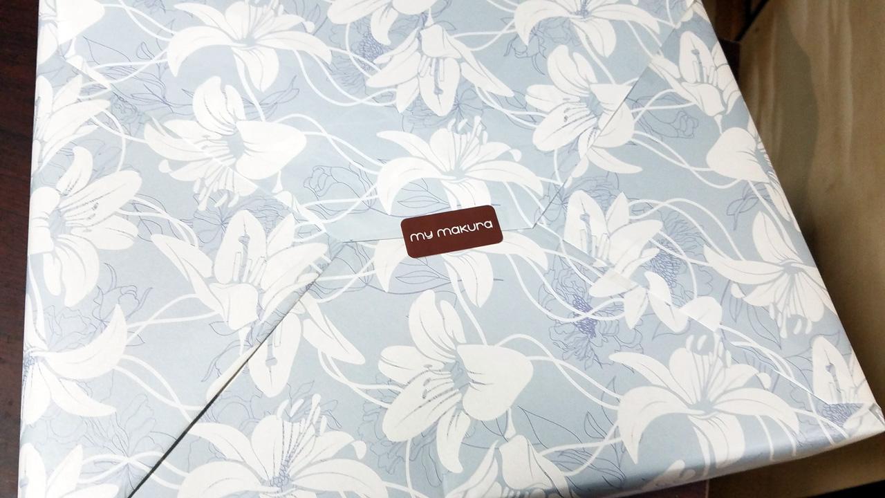 マイまくらオリジナルの包装紙
